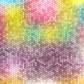 Blurred background with dots — Stock Vector