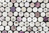 Close-up of wine corks in horizontal format — Stock Photo
