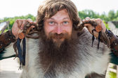 Funny viking — Stock Photo