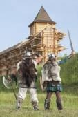 War between vikings — Stock Photo