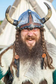 The angry viking — Stock Photo
