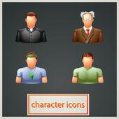Characters 2 — 图库矢量图片