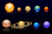 Planets set10 — Stock Vector