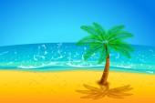 Island party03 — Vettoriale Stock