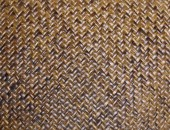 Retro woven wood pattern background — Stock Photo