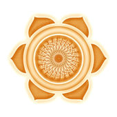 Sacral Chakra — Stock Photo