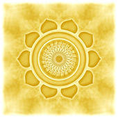 Solar Plexus Chakra — Stock Photo