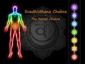 Svadhisthana czakry — Zdjęcie stockowe