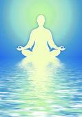 In Meditation — Stock Photo