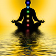 In Meditation With Chakras — Stock Photo #66073175