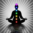 In Meditation With Chakras — Stock Photo #66074661