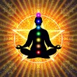 In Meditation With Chakras — Stock Photo #66076299