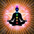 In Meditation With Chakras — Stock Photo #66077255