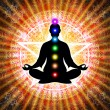 In Meditation With Chakras — Stock Photo #66077365