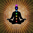In Meditation With Chakras — Stock Photo #66077545