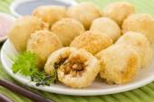 Katsu Chicken Balls — Stock Photo