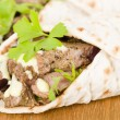 Grilled Beef Wraps — Stock Photo #59117681