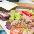 Grilled Beef Wraps — Stock Photo #59118935