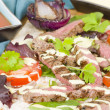 Grilled Beef Wraps — Stock Photo #59119411