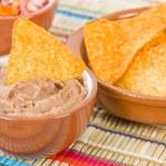Tortilla Chips & Dips — Stock Photo #65426187