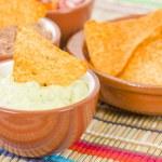 Tortilla Chips & Dips — Stock Photo #65426843