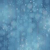 Christmas background with snowflakes — 图库照片