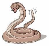 Rattlesnake — Stock Vector