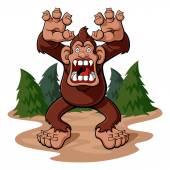 Bigfoot — Stock Vector
