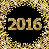 Happy New Year 2016 — Stock Vector