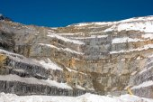 Open Pit Copper Mine in Chile — Stock Photo