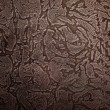 Tooled leather floral pattern background — Stock Photo #73149823