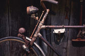 Detail of a Vintage Bike Front-light — Stock Photo