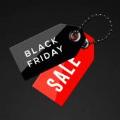 Black Friday sales tags — Stock Photo