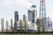 Oil refinery  unit in the countryside — Stock Photo