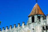 Ancient castle wall — Stock Photo