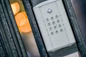 Intercom from a building — Foto Stock
