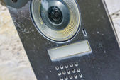 Black video intercom — Photo