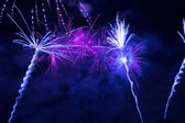 Beautiful fireworks celebration — Stock Photo