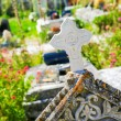 Close up of cross in an old Cemetery — Stock Photo #54376125