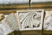 Roman Sculpture on the wall — Stock Photo