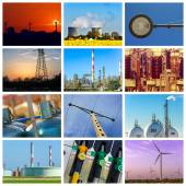 Power and energy concepts — Stock Photo