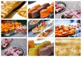 Assortment of pastries french — Fotografia Stock