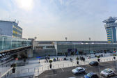 PARIS - MARS 18 : entrance to the airport of Orly on Mars 18, 2015 in Paris, France. Paris Orly Airport is an international airport located partially in Orly, south of Paris — Stock Photo