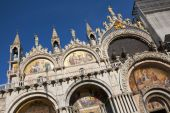 Architectural detail of San Marco Cathedral — Stock Photo