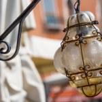 Beautiful venetian ornate lampposts with murano glass. Venice, Italy. — Stock Photo #69356629