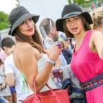 CHANTILLY - JUNE 15 : Lifestyle at Prix de Diane in racecourse, near Paris on June 15, 2014, France. — Stock Photo #70391591