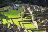Machu Picchu, Peru, UNESCO World Heritage Site. One of the New S — Stock Photo