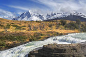 Torres del Paine National Park, Patagonia, Chile — Stock Photo