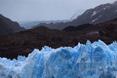Gray glacier, Torres del Paine National Park, Patagonia, Chile — Stock Photo