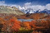 Mount Fitz Roy, Los Glaciares National Park, Patagonia — Stock Photo